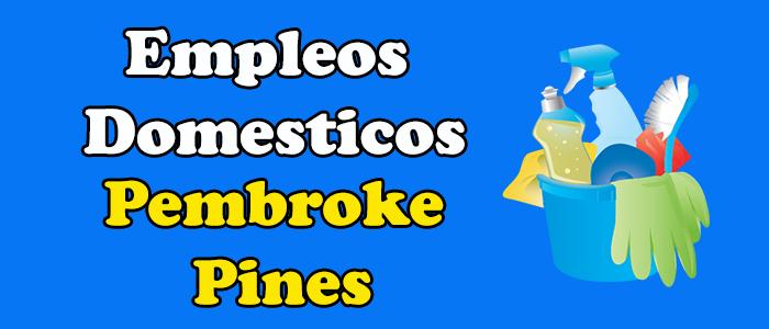 empleos disponibles limpieza pembroke pines